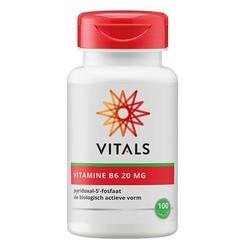 Vitals Vitamin B6 20 mg