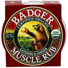 Badger Dachs Mini Muskel reiben 21 Gramm