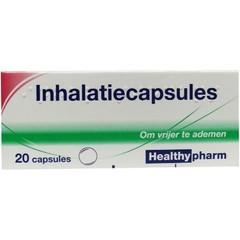 Healthypharm Inhalationskappen. 20 Kapseln.