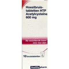 Healthypharm Acetylcysteine 600 mg 10 Brausetabletten