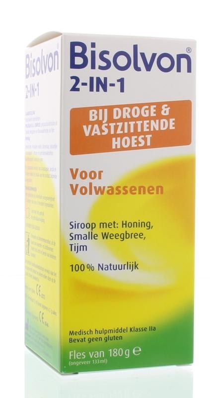 Bisolvon Bisolvon Drink 2 in 1 Erwachsene 133 ml