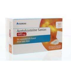 Sanias Acetylcysteine 600 mg Beutel 30 x 3 Gramm