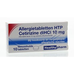 Healthypharm Cetirizin 10 mg 10 Tabletten