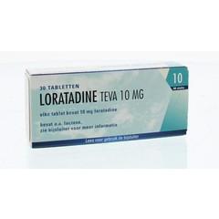 Teva Loratadine 10 mg 30 Tabletten