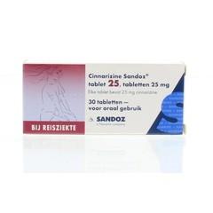 Sandoz Cinnarizine 25 mg 30 Tabletten