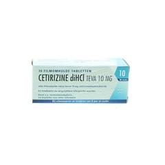 Teva Cetirizin DI HCl 10 mg 30 Tabletten