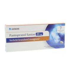 Sanias Pantoprazol 20 mg 7 Stück