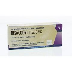 Teva Bisacodyl 5 mg 20 Tabletten
