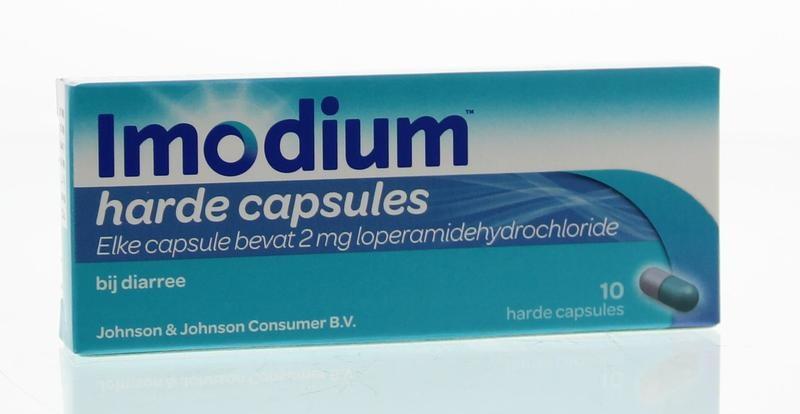Imodium Imodium Imodium 2 mg Kapseln. 10 Kapseln.