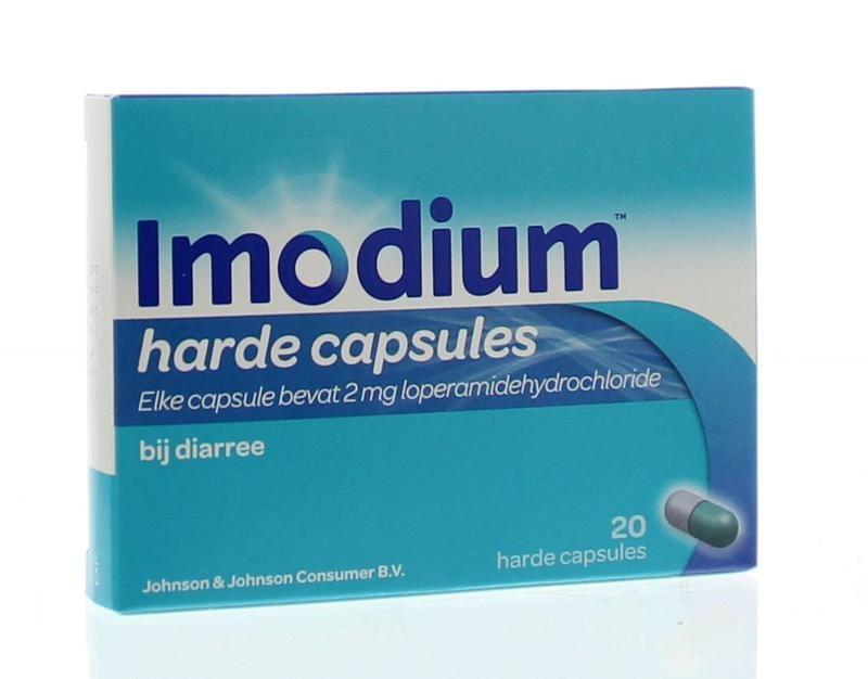 Imodium Imodium Imodium 2 mg 20 Kapseln.