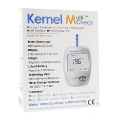 Testjezelf.nu Multicheck Glukose-Cholesterin-Messgerät 1 Stück