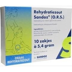 Sandoz Rehydration Salzbeutel 5,4 Gramm SAN 10 Stück