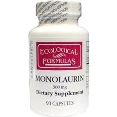 Ecological Form Ökologische Form Monolaurin 300 mg 90 Kapseln.