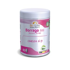 Be-Life Borrago 500 bio 140 Kapseln.