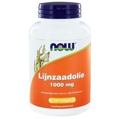 NOW Leinöl 1000 mg 100 Kapseln