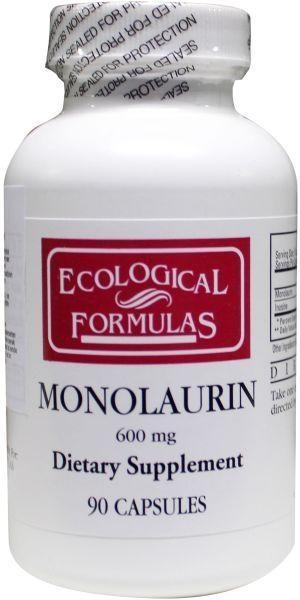 Ecological Form Ecological Form Ökologische Form Monolaurin 600 mg 90 Kapseln.