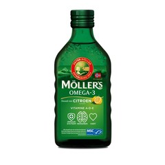 Mollers Lebertran Omega-3 Zitrone 250 ml