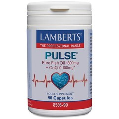 Lamberts Pulse (Fischöl + Q10) 90 Kapseln.
