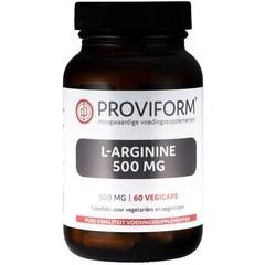 Proviform L-Arginin 500 mg 60 vcaps