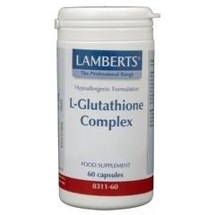 Lamberts L-Glutathion Komplex 60 Kapseln.