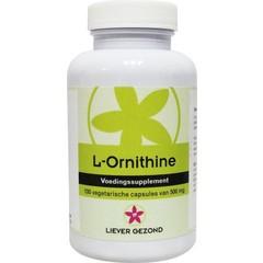 Liever Gezond Bevorzugen Sie gesundes L-Ornithin 100 Kapseln.