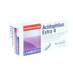 Lamberts Acidophilus Extra 4 60 Kapseln.