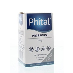 Phital Probiotica täglich 60 Kapseln.