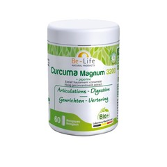 Be-Life Curcuma magnum 3200 + Piperin Bio 60 Weichgele