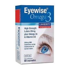 Lamberts Eyewise mit Omega 3 60 Kapseln.
