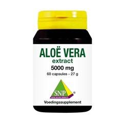 SNP Aloe Vera 5000 mg reine 60 Kapseln.