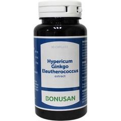 Bonusan Hypericum ginkgo eleutherococcus 90 Kapseln.