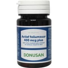 Bonusan Folsäure Aktiv 400 µg plus 90 Tabletten