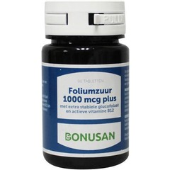 Bonusan Folsäure 1000 µg plus 90 Tabletten