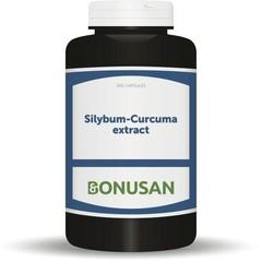 Bonusan Silybum Curcuma Extrakt 200 Kapseln.