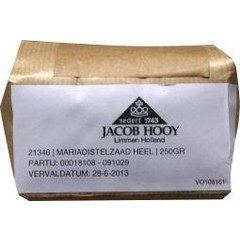 Jacob Hooy Mariendistel Samen 250 Gramm