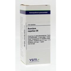 VSM Aconitum napellus D6 200 Tabletten