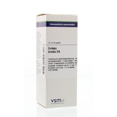VSM Ginkgo biloba D4 20 ml