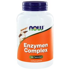 NOW Enzyme komplexieren 180 Tabletten