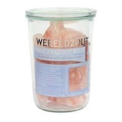 Esspo Himalaya-Salz Pink Crystal Glas 700 Gramm