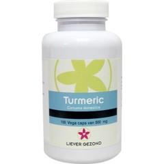 Liever Gezond Bevorzugen Sie gesunde Kurkuma Kurkuma 500 mg 100 Kapseln.