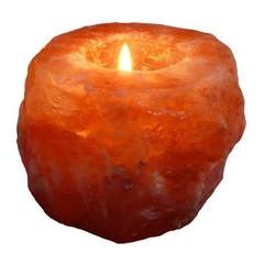 Esspo Himalaya Salz Teelicht Natur 800 Gramm