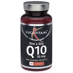 Lucovitaal Lucovital Q10 30 mg einmal täglich 60 Kapseln.