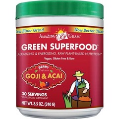 Amazing Grass Erstaunliche Grass Berry Goji Acai grün Superfood 240 Gramm