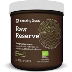 Amazing Grass RAW Reserve grünes Superfood 240 Gramm