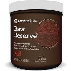 Amazing Grass RAW Reserve Beerengrün Superfood 240 Gramm