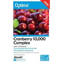 Optima Cranberry 10000 Komplex 30 Kapseln.