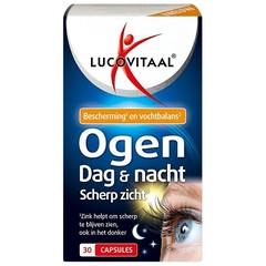 Lucovitaal Eyes Tag und Nacht scharfes Sehen 30 Kapseln.