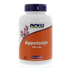 NOW Apfelessig 450 mg 180 Kapseln.