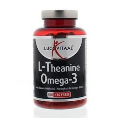 Lucovitaal Lucovital L-Theanin Omega 3 210 Kapseln.