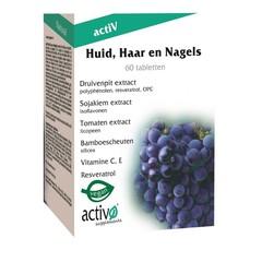Activo Skin Haarnägel 60 Tabletten